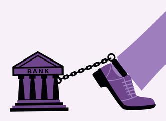 Bank fetters.