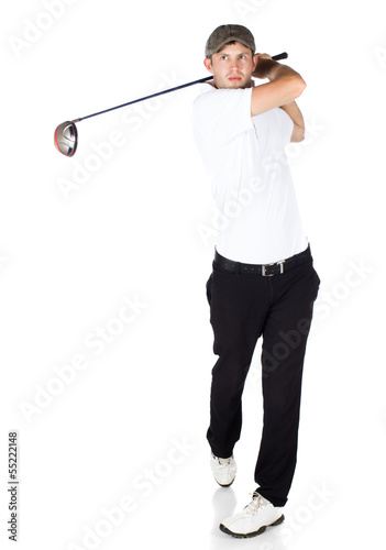 Professional golf player