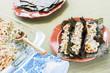 Hawaiian Broiled Sushi Tacos