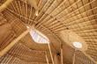 Bamboo architecture in Gili trawangan
