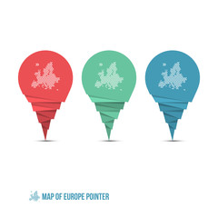 Map of Europe Pointer
