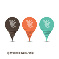 Map of North America Pointer