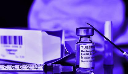 vaccination contre la tuberculose,test,cutie
