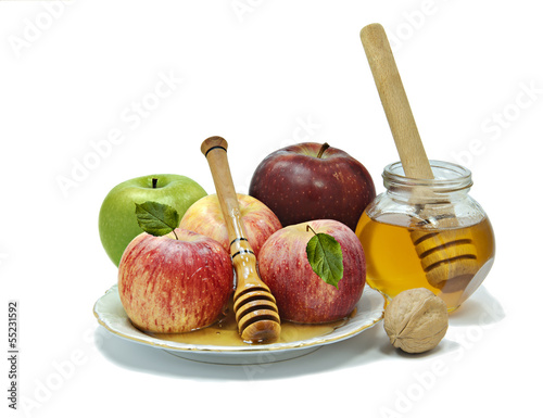 Traditional food for Hebrew New Year - Roah Hashanah