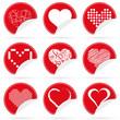 9 Herzen Icons
