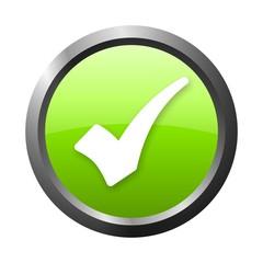 green check mark button