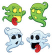 funny cartoon ghost