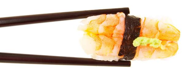 nigiri à la crevette cuite