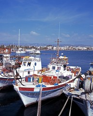 Fishing boats, Paphos, Cyprus © Arena Photo UK