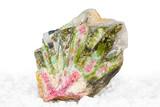 Watermelon tourmaline crystals