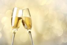 "Постер, картина, фотообои ""Celebration with champagne"""