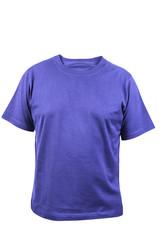 Blue T-shirt. Front.