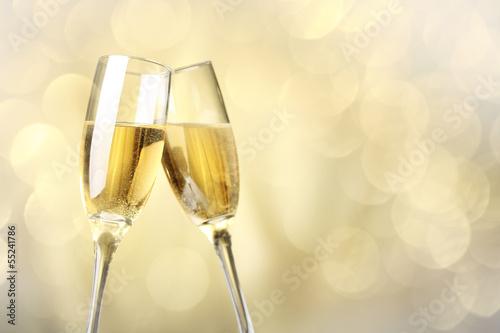 Papiers peints Vin Celebration with champagne