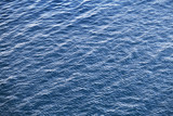 Blue Adriatic sea water background texture with ripple