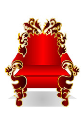 red throne