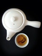 Chinese hot tea