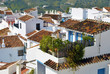 View of the typical rooftops Frigiliana