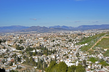 Albaicin, Granada