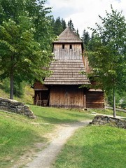 Rare wooden church in Zuberec