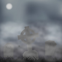 Gravestones background
