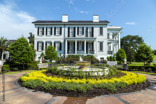 historic Nottoway plantation in Louisiana