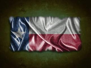 Vintage Texas flag.
