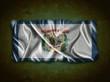 Vintage West Virginia flag.