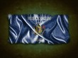 Vintage Wisconsin flag.