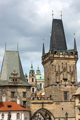 Towers in Prague