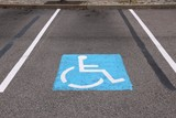 Handicapped parking in USA