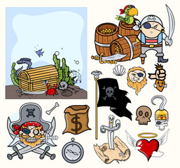 Pirate Cartoons