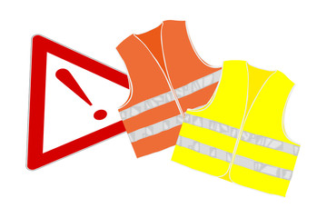 Gilet alta visibilità - giubbino catarifrangente
