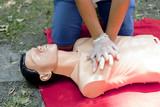 cardiopulmonary resuscitation - CPR poster