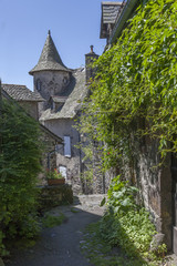 village de Salers dans le cantal