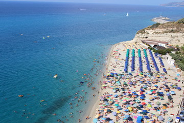 Mediterranean Sea, South Italy, Tropea, Calabria