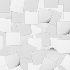 Black and white post it background