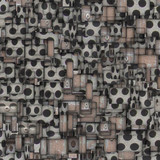 mosaic tile metal grid fragmented backdrop