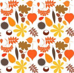 Autumn. Pattern