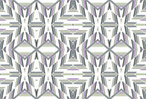 Seamless geometric pattern with zigzags.