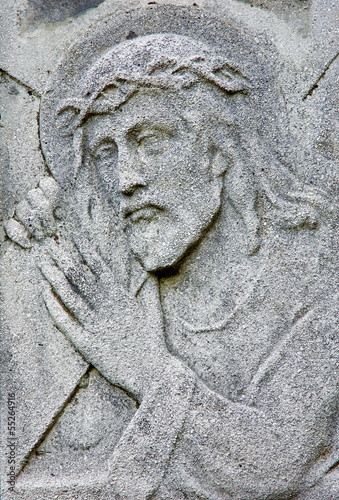 Bratislava - Relief of Jesus Christ on the tomb