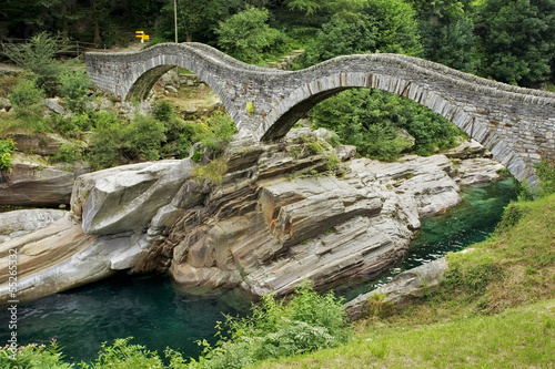 Ponte dei Salti in Verzasca Valley