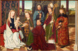 Vienna - Medieval paint from year 1462 - Maria am Gestade