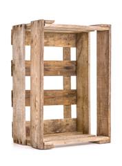 alte Weinkiste aus Holz