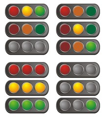 horizontal traffic light