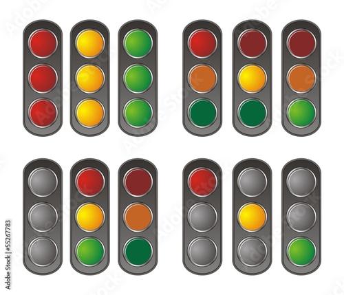 vertical traffic light