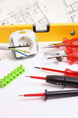 Werkzeuge für Elektriker