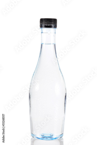 Water in plastic bottle