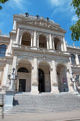 Vienna - East portal of University