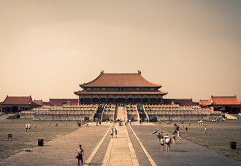 The Hall of Supreme Harmony at the Forbidden City.