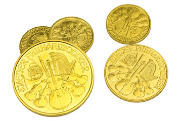 Goldmünzen Wiener Phil. 2